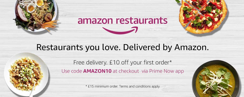 Food delivery: poteva mancare Amazon?