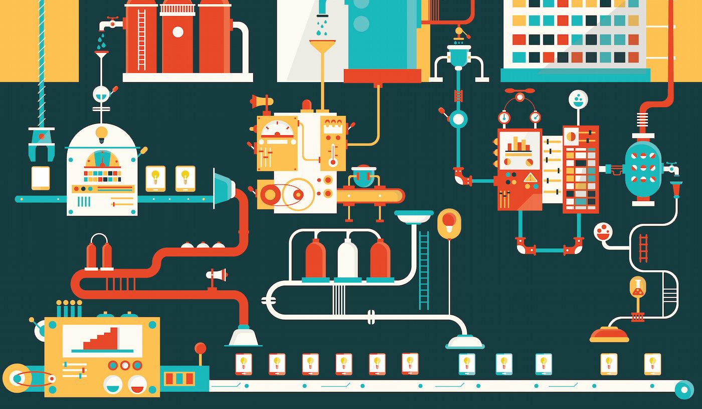 Boom per lo smart manufacturing