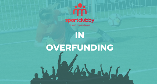 Sportclubby va a goal e supera l'obiettivo di raccolta