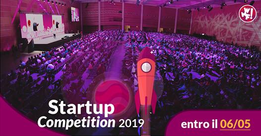 Aperta la call per la Startup Competition 2019