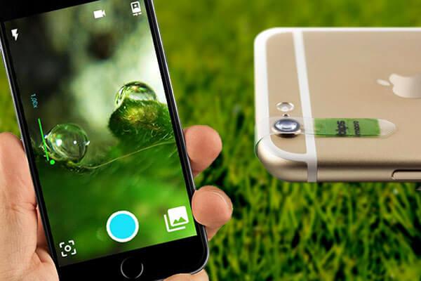Lo smartphone diventa un microscopio